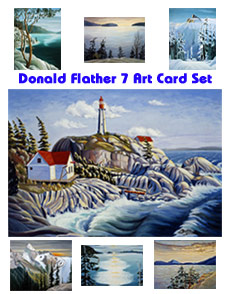Click here for details on this Donald Flather artwork...